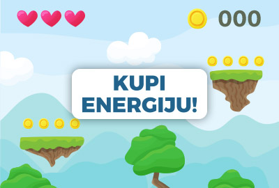 Kako kupiti energije u mobilnoj igrici?
